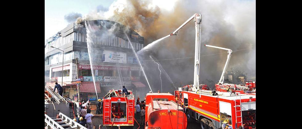 Devastating fire in Surat building kills 17 students