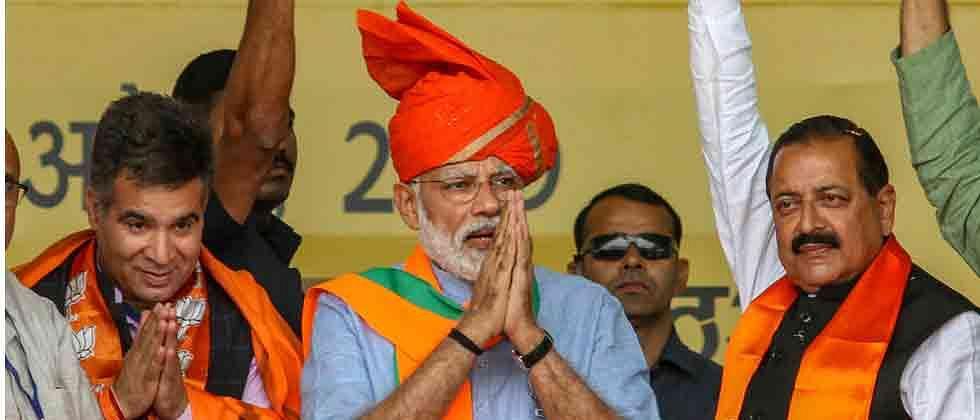 LokSabha 2019: PM targets Abdullahs, Muftis, says he won't allow them to divide India