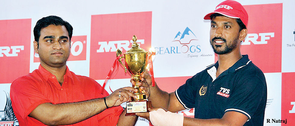 Natraj wins to open up lead after Rajendra falters in Nashik Rally