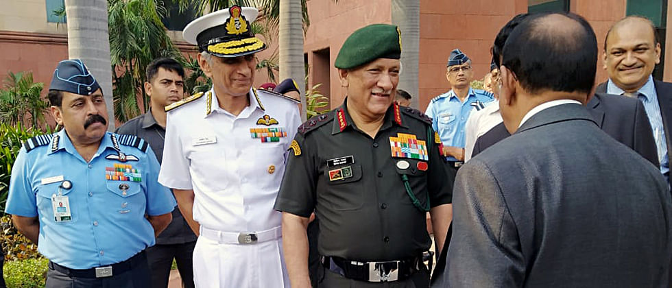 We will continue to partner with friends to confront any emerging threats: Army chief