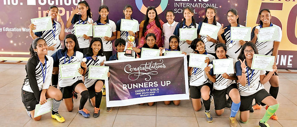 GIIS, Chinchwad girls qualify for CBSE Natl's