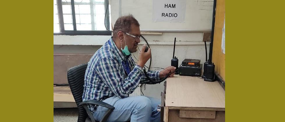 Ham Radio club helps Kolhapur district administration with wireless system
