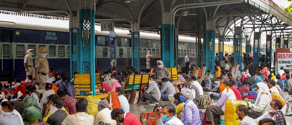 Over 15 lakh migrants have returned to Uttar Pradesh so far in 1,174 trains