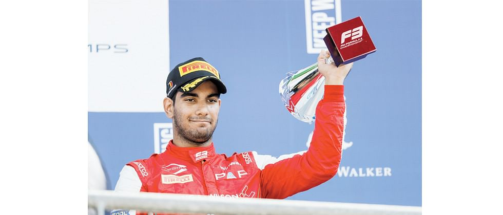 Jehan moves up to 2nd in the FIA F3 Championship