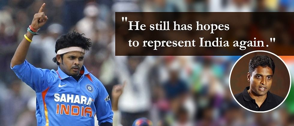 We all want Sreesanth to make a comeback: Kerala coach Tinu Yohannan