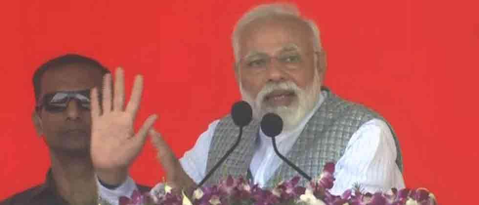 "LokSabha 2019: Congress wants to install ""helpless"" PM, says Modi"
