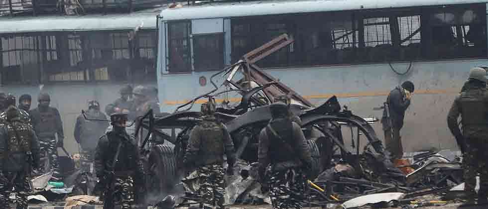 37 CRPF personnel killed in suicide attack in Kashmir, Jaish-e-Mohammed claims responsibility