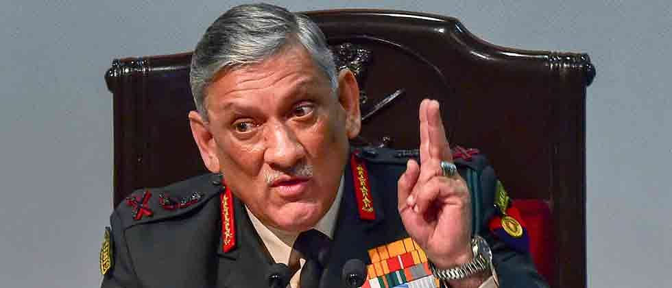 Will not allow gay sex, adultery in Army: Gen. Rawat