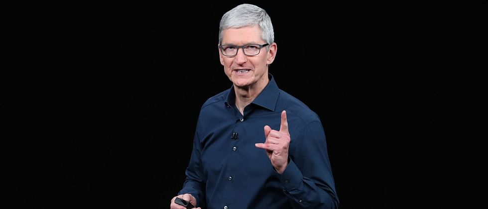 Apple CEO Tim Cook is now a billionaire; company's value climbs toward USD 2 trillion