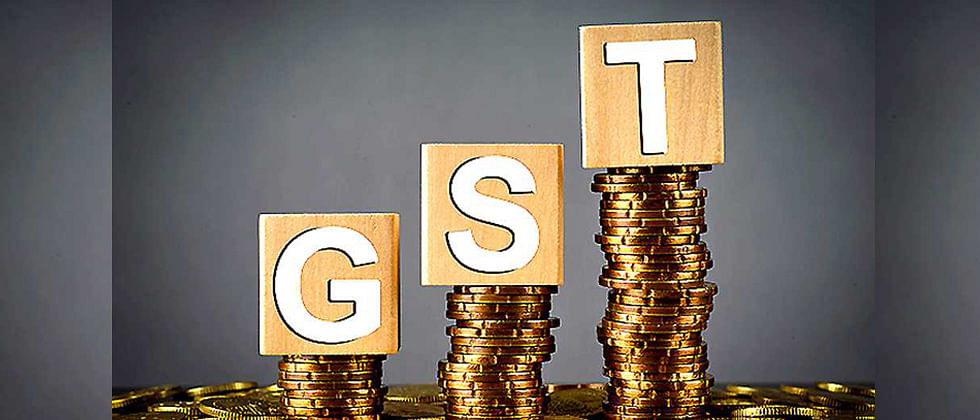 The revenues for the month are 10 per cent higher than the GST revenues in the same month last year