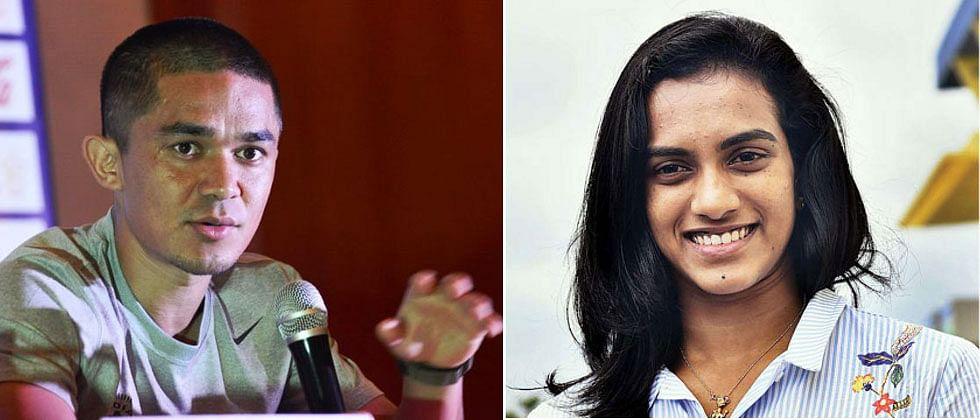 Sports Minister Kiren Rijiju, PV Sindhu and Sunil Chhetri to launch Fit India Talks