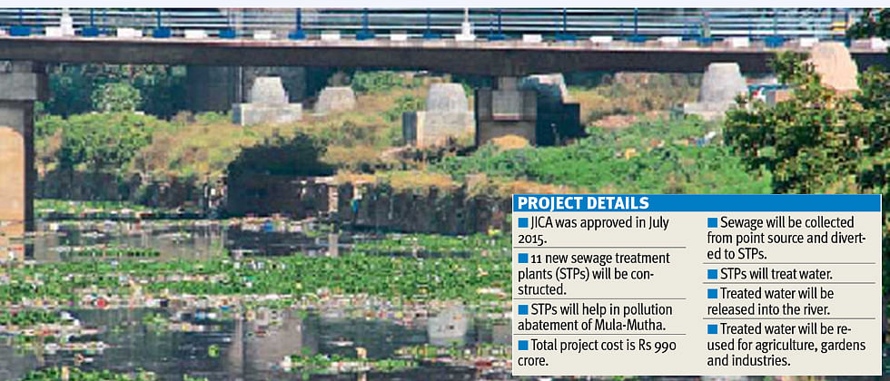 River pollution abatement project would cost PMC Rs 100 crore more