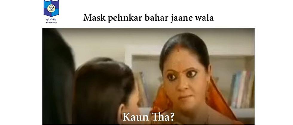 Pune Police uses Kokilaben rap video meme for coronavirus advice