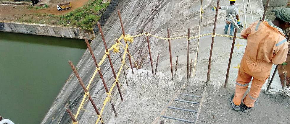 Temghar dam repairs tardy; only 10 pc done