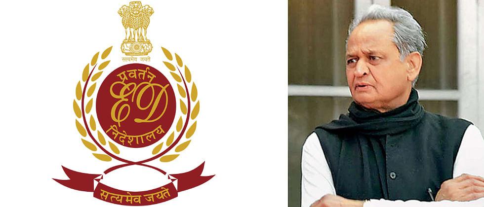 ED and IT raids people close to Gehlot amid Rajasthan crisis