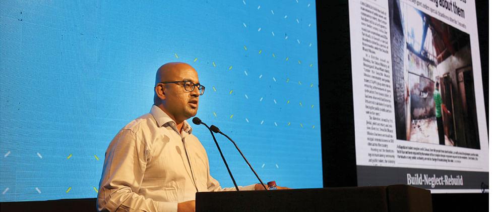 Gowtham Reddy wins award at Lexus Design Award India