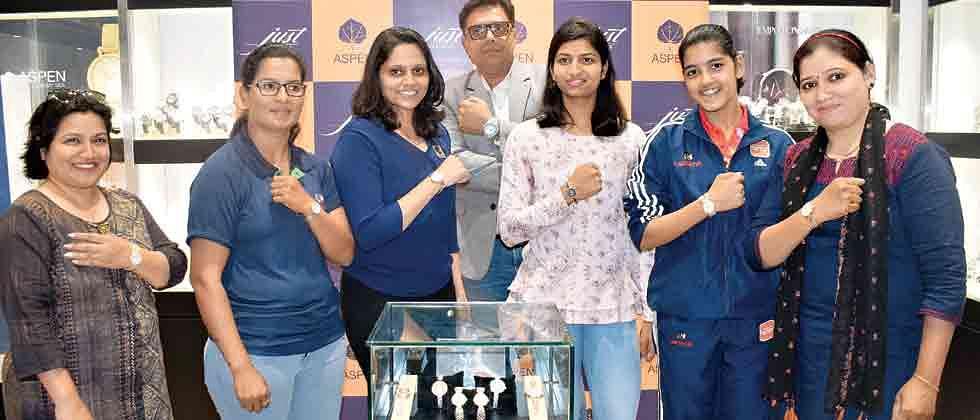 Sportswomen celebrate womanhood as Aspen Watches launch 'Jewels'