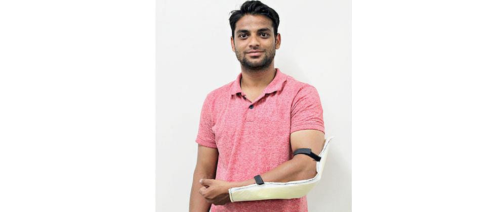 BETiC innovator develops hybrid plaster splint to prevent disability