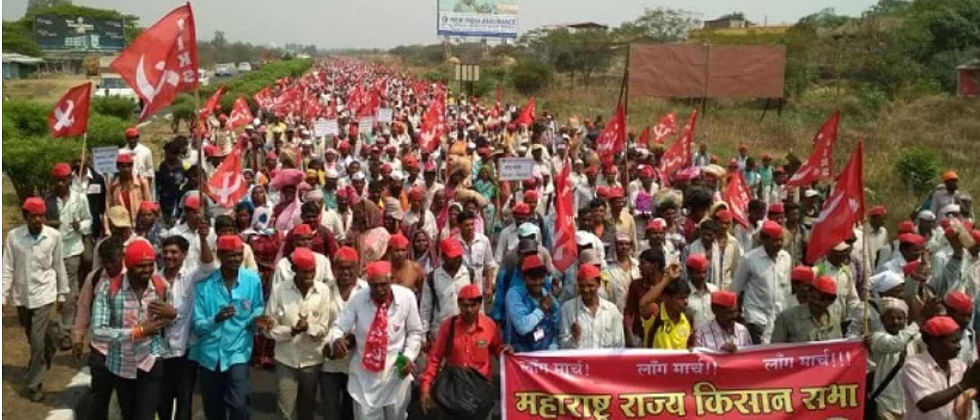 Walking 180 km, 35,000 Farmers Reach Mumbai For Debt Waiver, Fair Pay