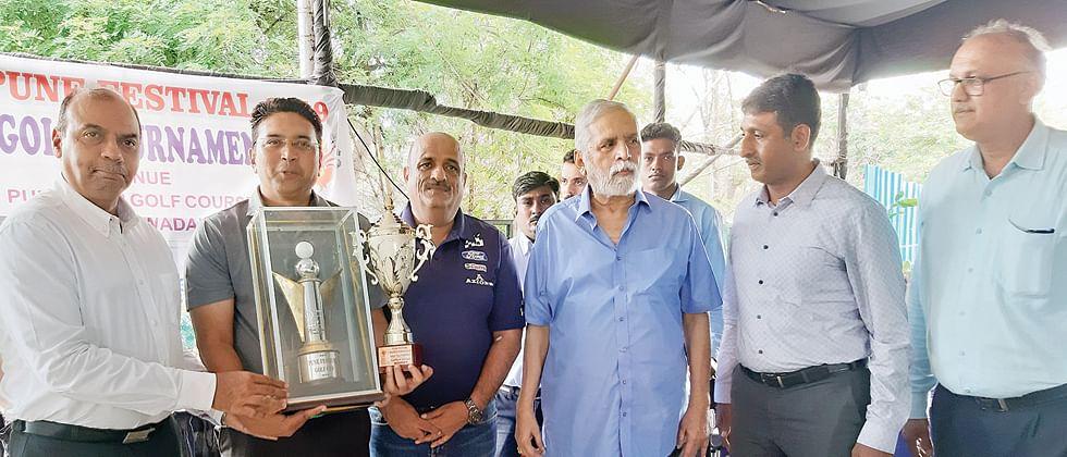 Kartik Krishnaraj wins Pune Festival Cup golf trophy