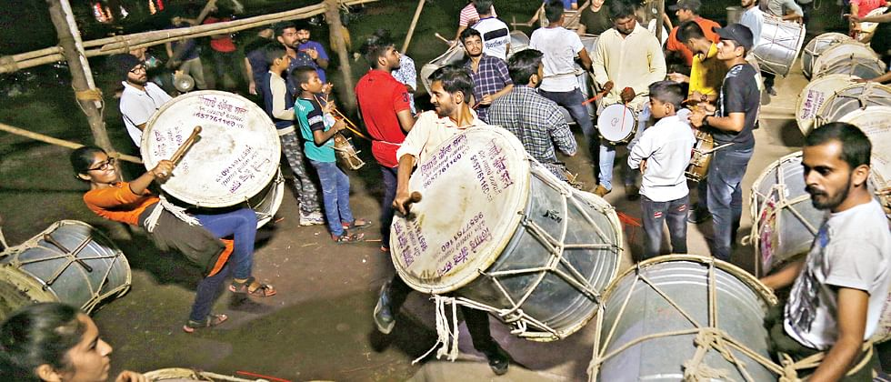 Police urge all dhol tasha troupes to follow norms