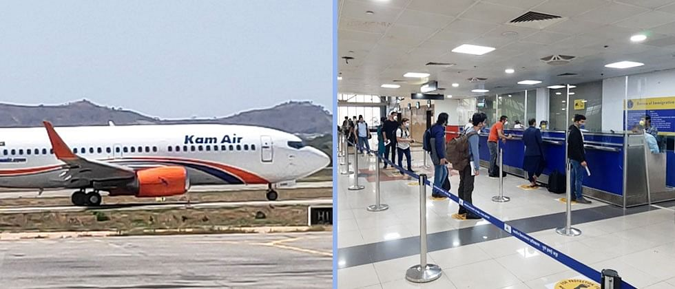 143 Afghan Nationals Return home from Pune