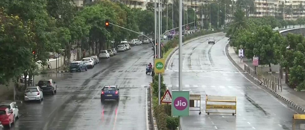 Mumbai experiences first shower of the year