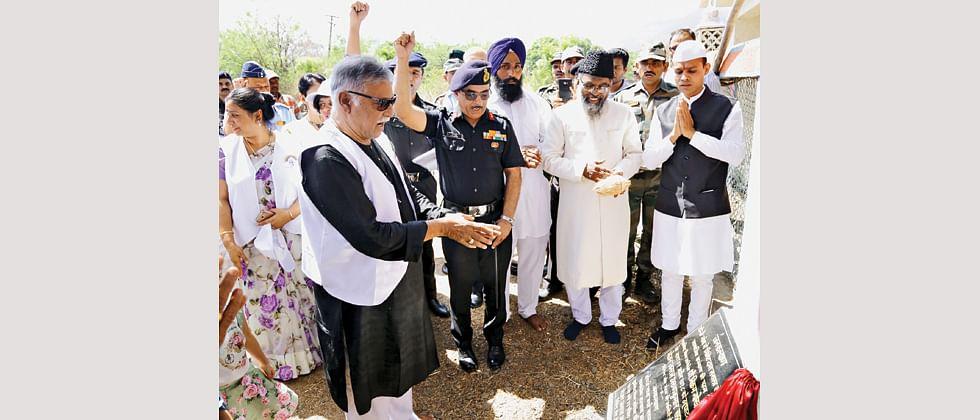 MILIT adopts Donje village, launches Jan Kalyan initiative