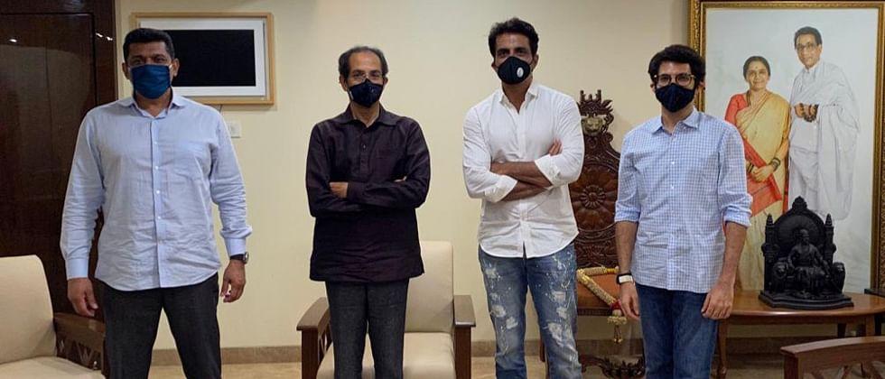 Sonu Sood meets Maharashtra CM Uddhav Thackeray