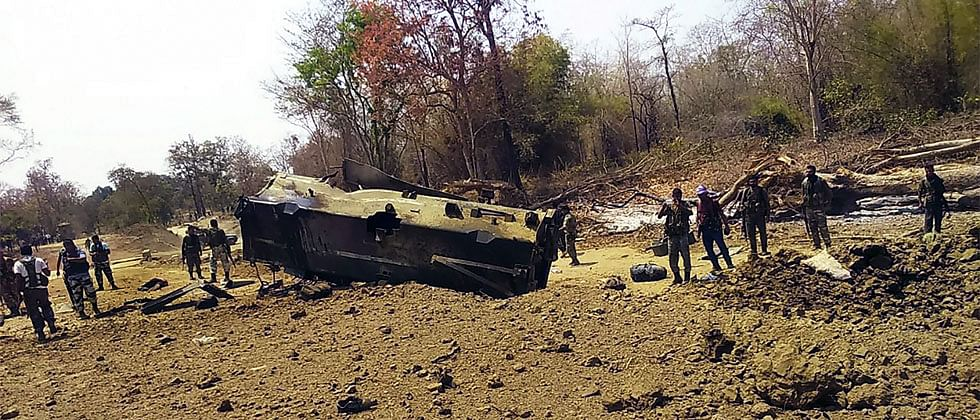 Naxal attack: There was no intelligence failure, says Ahir