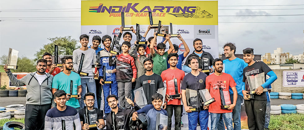 Pune karters dominate IndiKarting