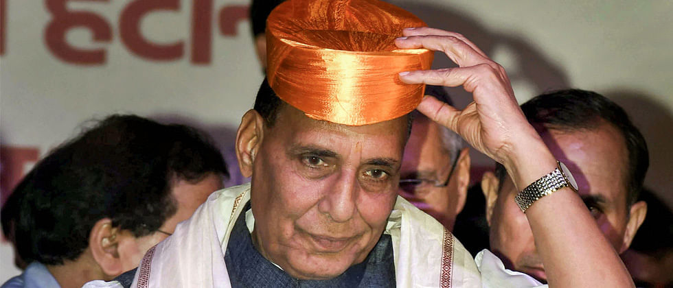 Pak at risk of getting dismantled for rights breach: Rajnath