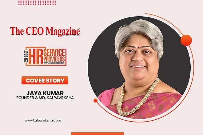 Kalpavrksha  a Jaya Kumar - Led Unique Position Recruitment Firm Mitigating the Talent Gap with its Inimitable Stance