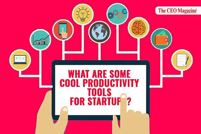 What are some cool productivity tools for startups?