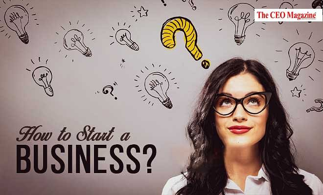 """What's the answer to """"How to start a business?"""""""