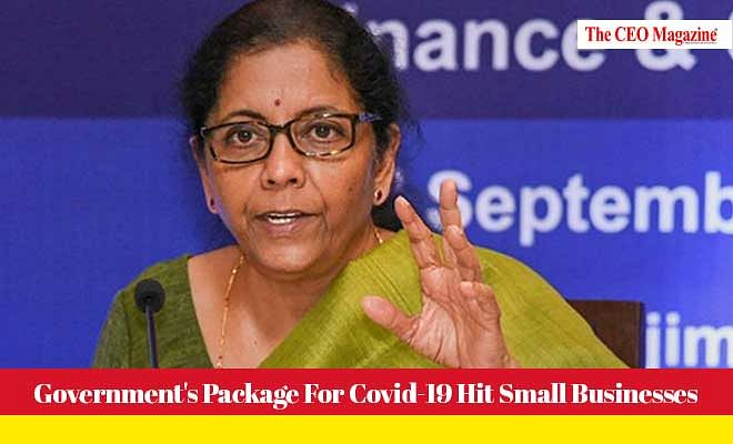 Government's Package For Covid-19 Hit Small Businesses