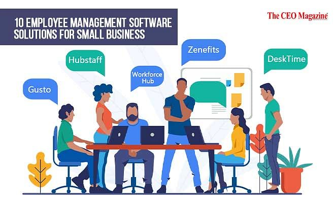 10 Employee Management Software Solutions for Small Business