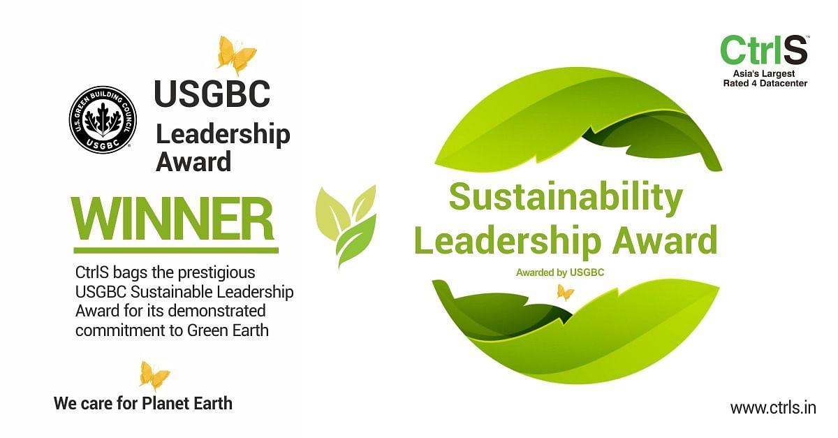 CtrlS bags the prestigious US Green Building Council (USGBC) leadership award
