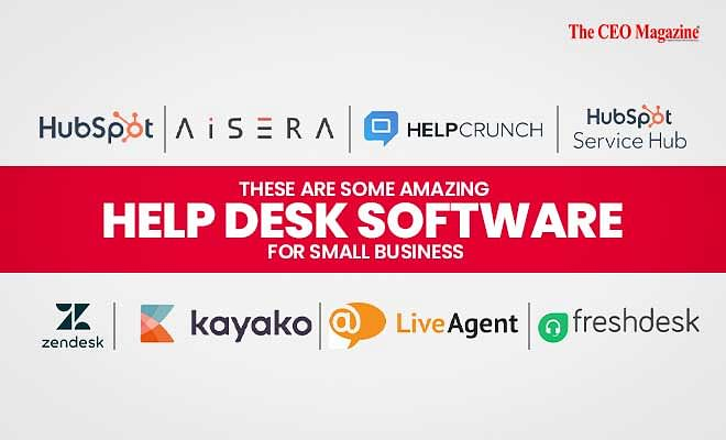 These are some Amazing Help Desk Software for Small Business