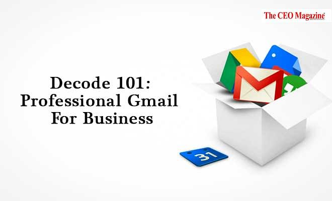 Decode 101: Professional Gmail For Business