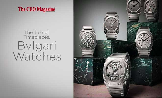 The Tale of Timepieces, Bvlgari Watches