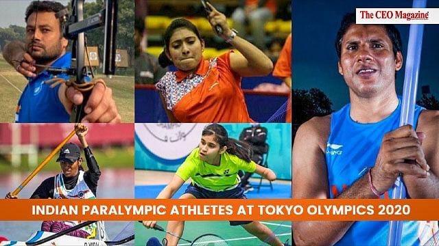 Indian Paralympic Athletes at Tokyo Olympics 2020