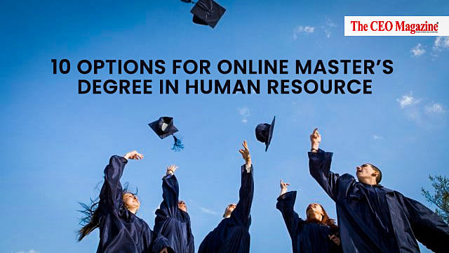 10 Options For Online Master's Degree In Human Resource