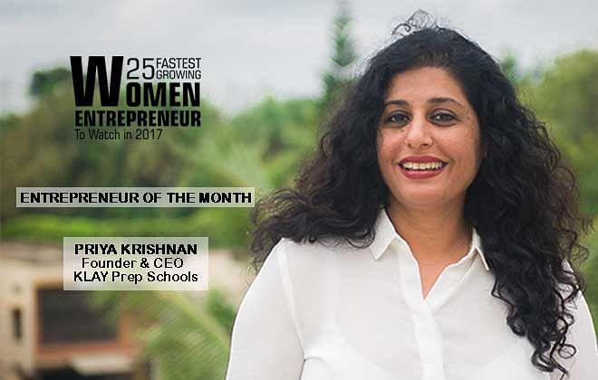 Priya Krishnan: Ideator& Momprenuer in Chief – Klay Prep Schools & Daycare