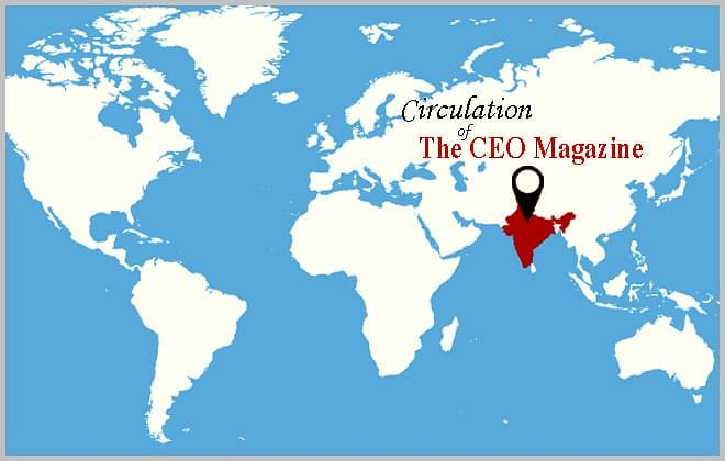 Circulation of The CEO Magazine!