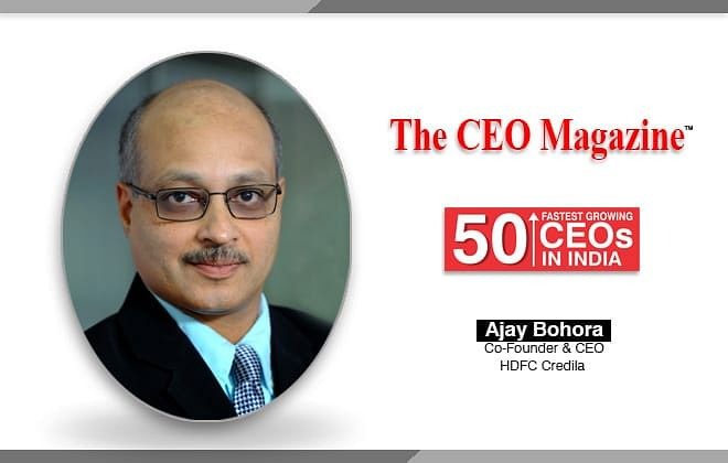 """""""We find it our responsibility to create a sustainable business model out of HDFC Credila where more students can get education loans for their higher education in India & abroad"""" says Ajay Bohora – Cofounder & CEO at HDFC Credila"""