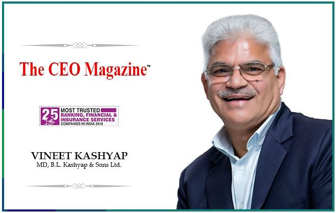 A Landmark of building values: B.L Kashyap and sons Ltd.