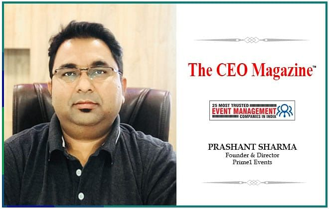 Prime1: metamorphosing Indian event management with nonpareil events and unprecedented approach