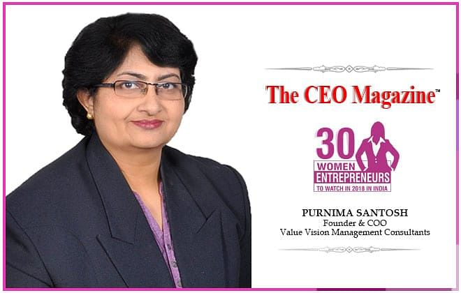 A confident entrepreneur at heart, Purnima Santosh break the stereotypes with her incessant quench for success