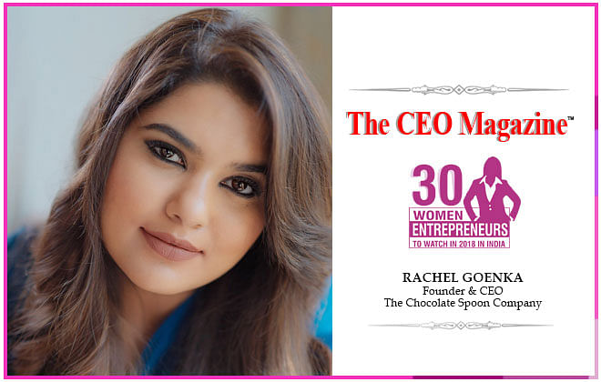 """Rachel Goenka's inspirational interview with TCM: """"Success to me goes beyond the obvious financial benchmarks"""" says Rachel."""